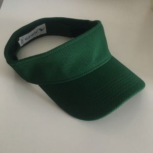 Dark green visor